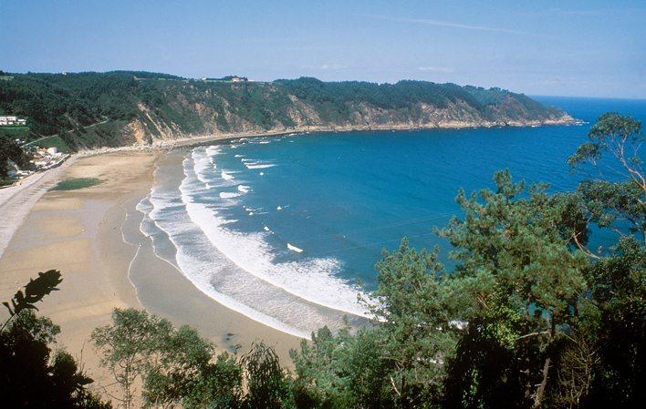 Playa de la Concha de Artedo… una de las playas más especiales de ...